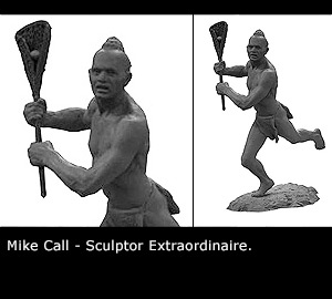 Mike Call - Sculptor Extraordinaire.